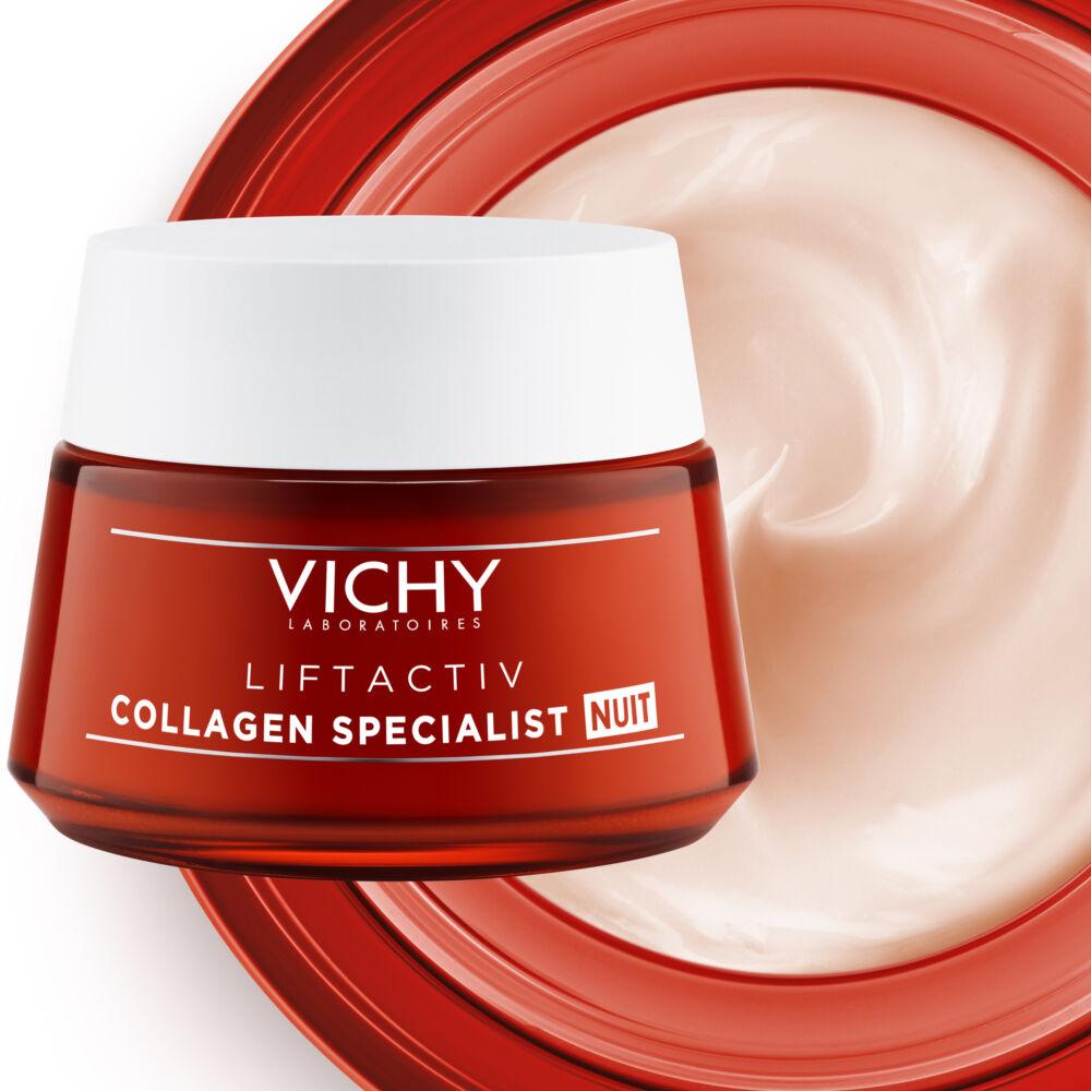 Vichy Liftactiv Collagen Specialist éjszakai ránctalanító..