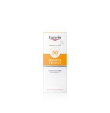 Eucerin Sun Sensitive Protect Extra könnyű naptej FF50 150 ml