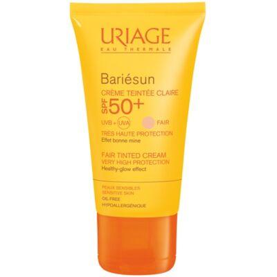 Uriage BARIÉSUN színezett arckrém SPF 50+  -világos 50ml