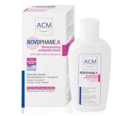 Novophane K korpásodás elleni sampon 125ml