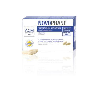 Novophane haj és körömerősítő kapszula 60db