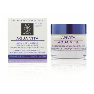 APIVITA AQUA VITA Hidratáló arckrém normál/száraz bőrre