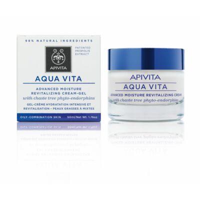 APIVITA AQUA VITA Hidratáló arckrém zsíros/kombinált bőrre