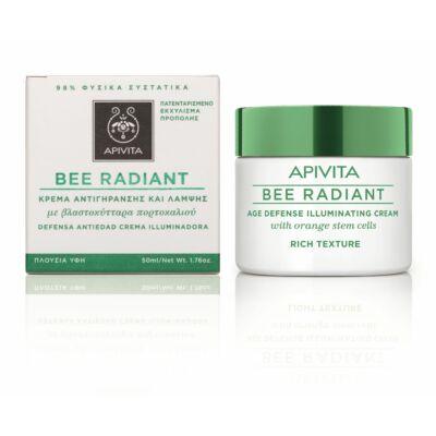 APIVITA BEE RADIANT Bőrfiatalító és ragyogást fokozó arckrém RICH