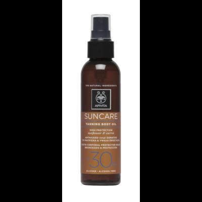 APIVITA SUN SPF30 Barnulást elősegítő olaj spray 150 ml