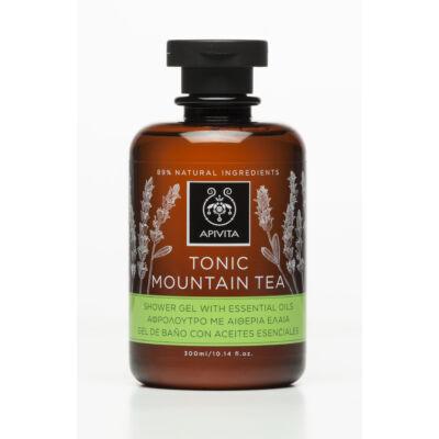 APIVITA Tusfürdő pezsdítő hegyi teával és illóolajokkal