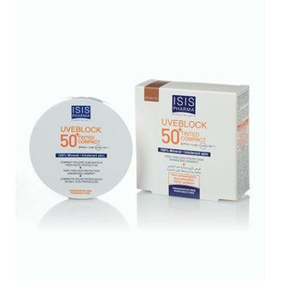 Uveblock SPF50+ kompakt púder sötét árnyalat 10g