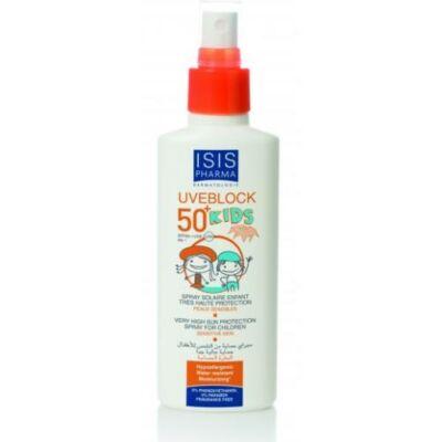 Uveblock SPF50+ Gyermek fényvédő spray 150 ml