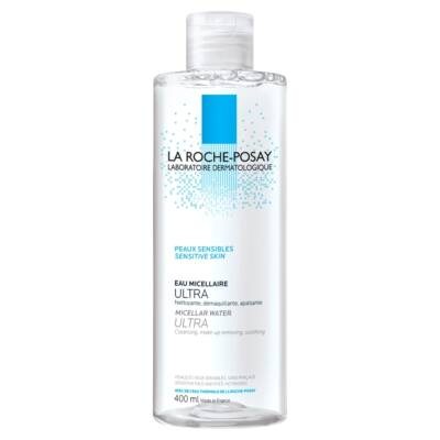 La Roche-Posay Ultra micellás arclemosó érzékeny bőrre 400ml