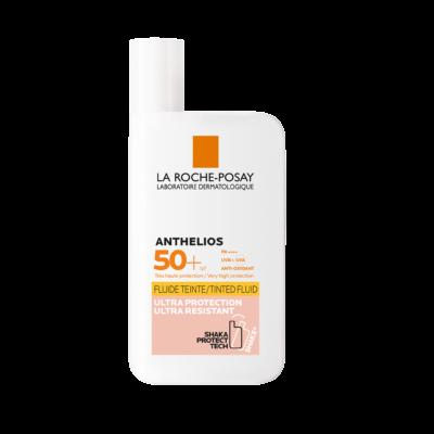 La Roche-Posay Anthelios Shaka ultra könnyű színezett fluid SPF50+ 50 ml