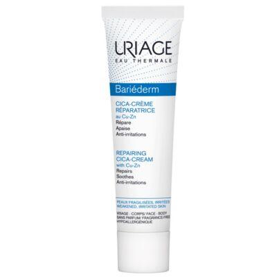 Uriage BARIÉDERM CICA CU-ZN+ Krém - sebkezelő és gyulladáscsökkentő 40 ml
