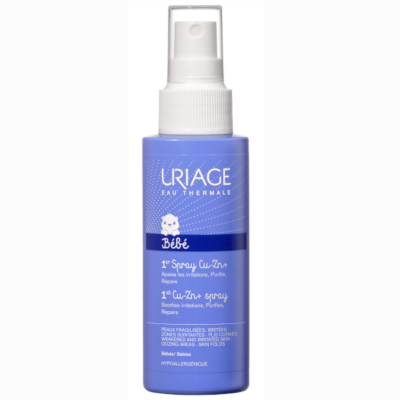 Uriage BABA CU-ZN+ spray irritált bőrre 100 ml