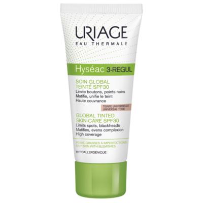 Uriage HYSEAC 3-REGUL Színezett krém SPF30 40ml