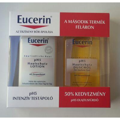Eucerin PH5 csomag (Intenzív testápoló + Olajtusfürdő 200 ml)