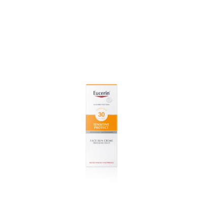 Eucerin Sun Sensitive Protect Napozó krém arcra FF30 50 ml