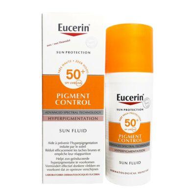 Eucerin Sun Pigment Control napozó fluid arcra FF50 50ml