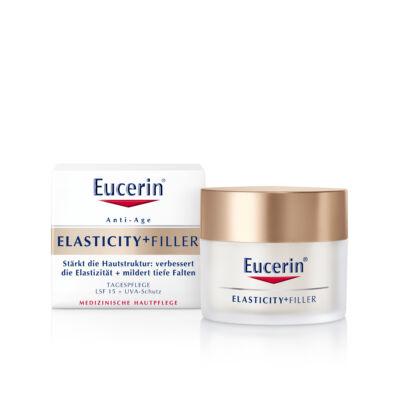 Eucerin Elasticity+Filler Bőrtömörséget Regeneráló nappali arckrém FF15 50ml