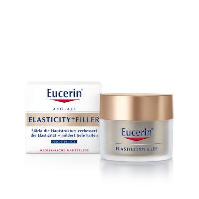 Eucerin Elasticity+Filler Bőrtömörséget Regeneráló éjszakai arckrém 50ml
