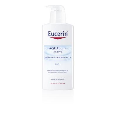 Eucerin AQUAporin ACTIVE Frissítő testápoló balzsam (pumpás) 400ml