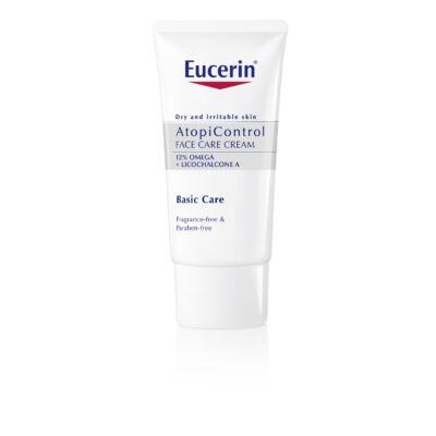 Eucerin AtopiControl 12% Omega zsírsavas arckrém 50ml