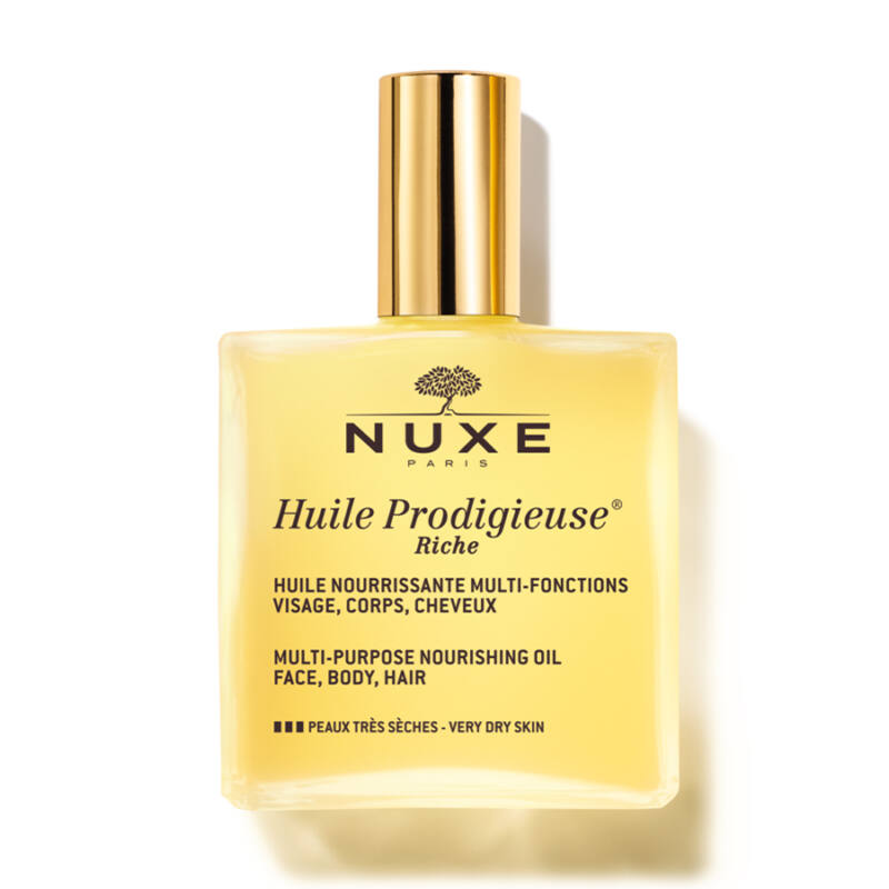NUXE Huile Prodigieuse Riche Többfunkciós gazdag szárazolaj arcra, testre, hajra 100ml