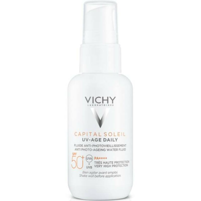 Vichy Capital Soleil UV-Age Daily fényvédő fluid photo-aging ellen SPF50+ 40ml