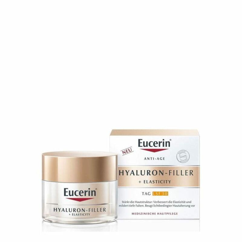 Eucerin Hyaluron-Filler + Elasticity Bőrtömörséget regeneráló nappali arckrém FF30