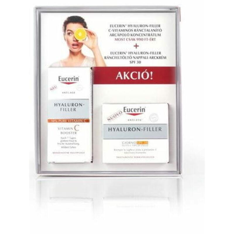 Eucerin Hyaluron-Filler Ajándékcsomag FF30 Ráncfeltöltő nappali arckrémmel