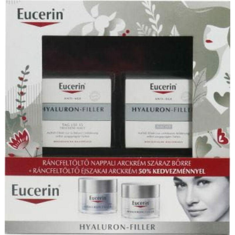 Eucerin Hyaluron-Filler Karácsonyi csomag száraz bőrre