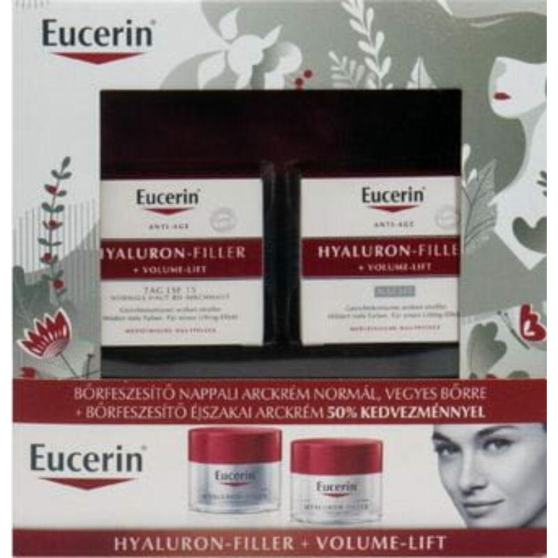 Eucerin Hyaluron-Filler+Volume-Lift Karácsonyi csomag normál, vegyes bőrre