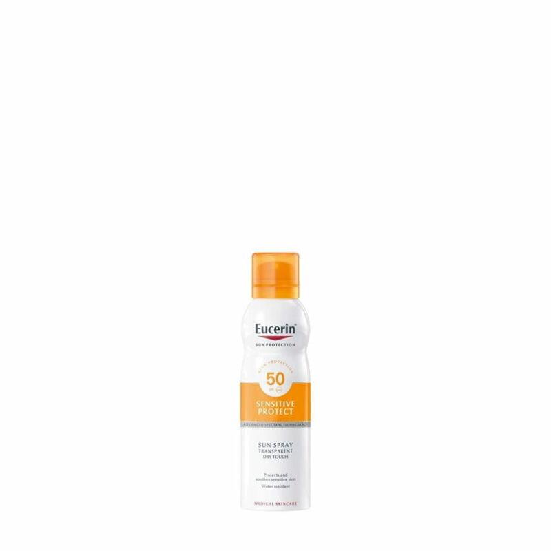 Eucerin Sun Színtelen Napozó aerosol spray FF50+ 200ml